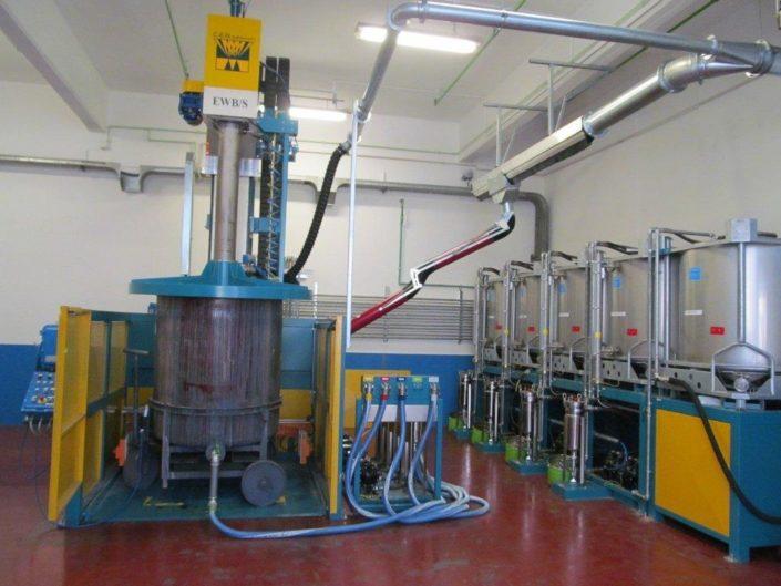 Myjka przemysłowa CEB IMPIANTI EWB